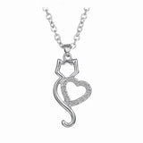 Lovely Cat Necklace - UniValley