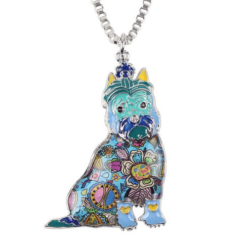 Schnauzer Dog Necklace - UniValley
