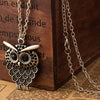 Antique Owl Pendant Necklace - UniValley