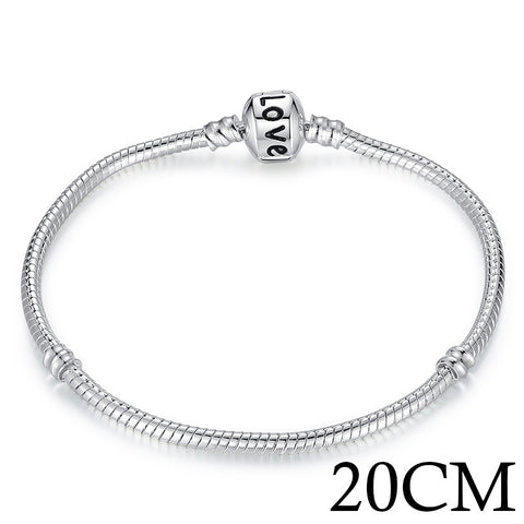 Silver Plated Love Bracelet - UniValley