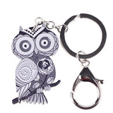Colorful Owl Keychain - UniValley