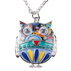 Fat Owl Necklace - UniValley