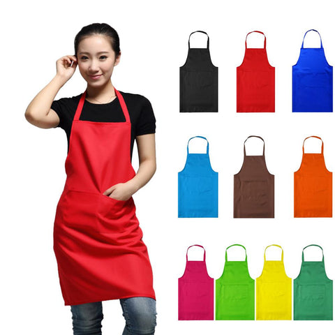 Adjustable Color Cooking Aprons