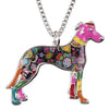Greyhound Dog Necklace - UniValley