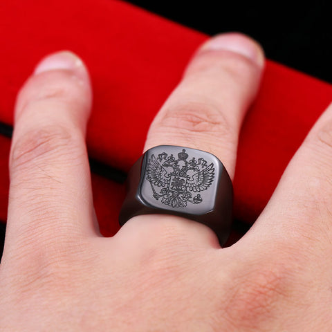 Eagle Coat of Arms Ring
