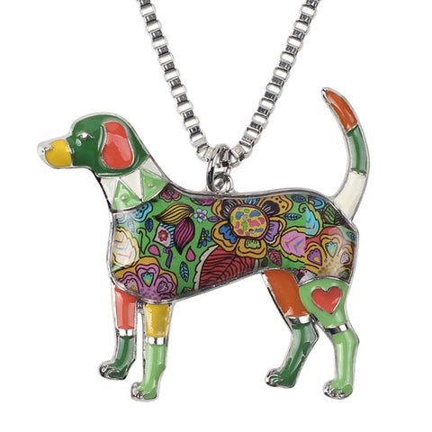 Beagle Dog Necklace - UniValley