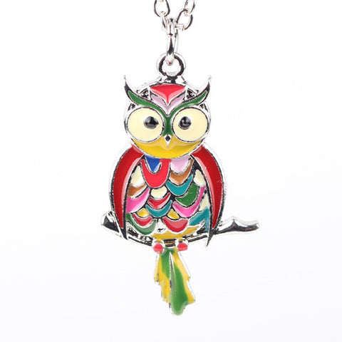 Small Owl Necklace - UniValley