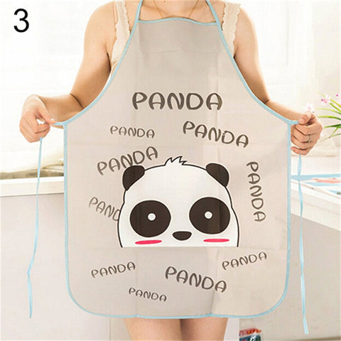 Cute Cartoon Waterproof Apron