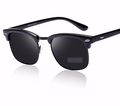 Classic Half Metal Polarized Sunglasses - UniValley