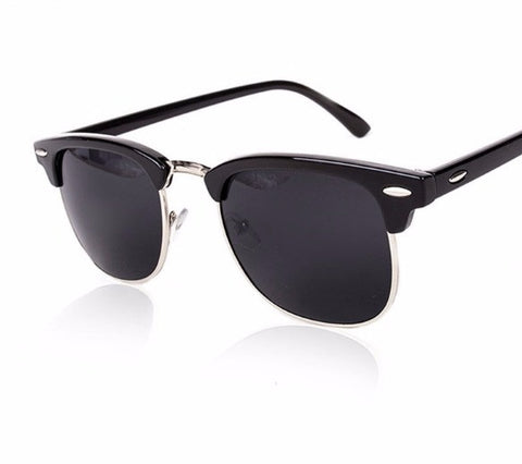 Classic Half Metal Sunglasses - UniValley