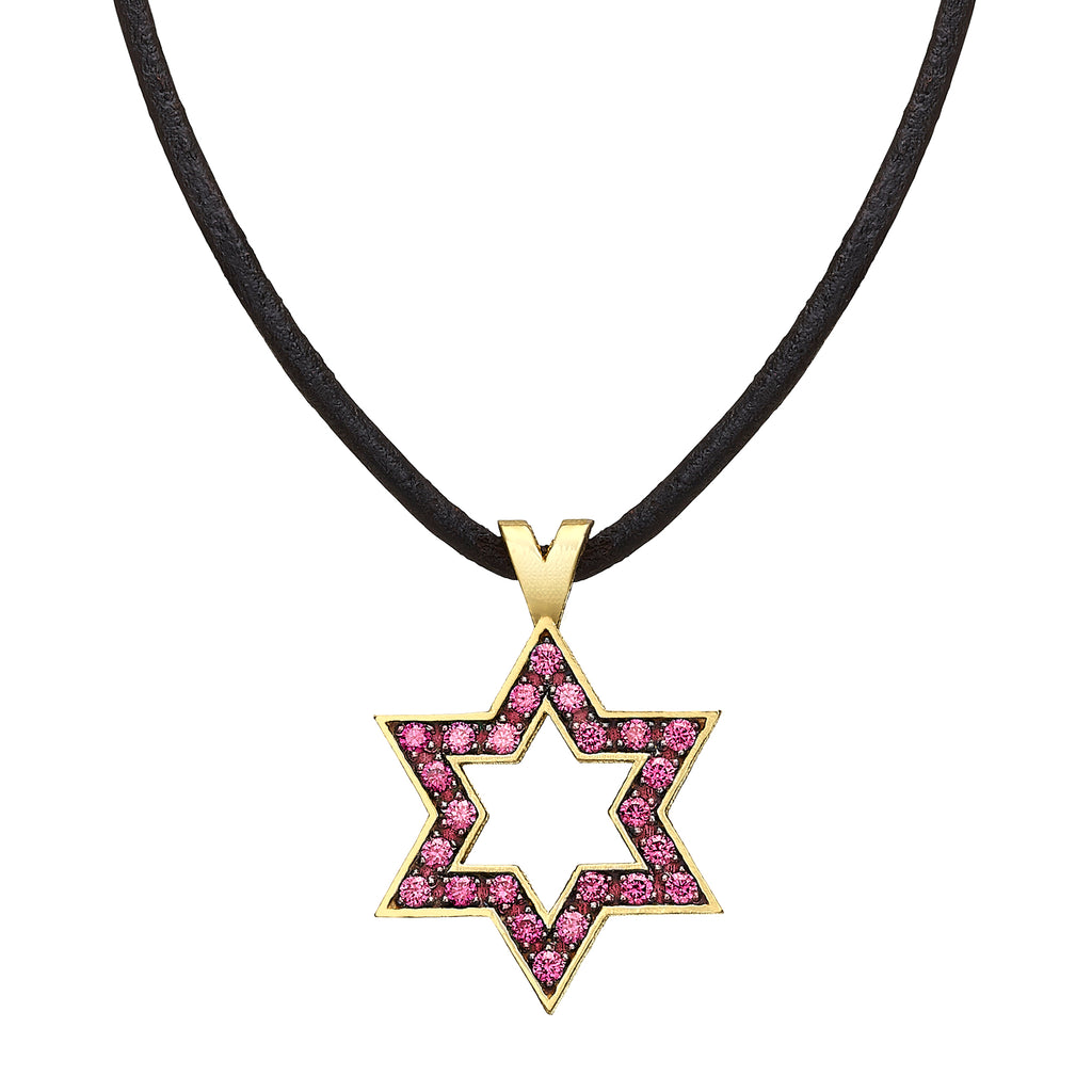 Star of David set with Rubies - Chaya & Raphael's Galleries