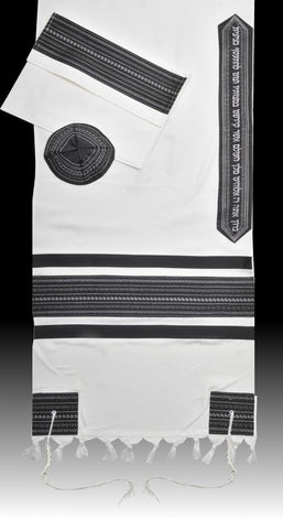 Tallit CL - Black - Chaya & Raphael's Galleries
