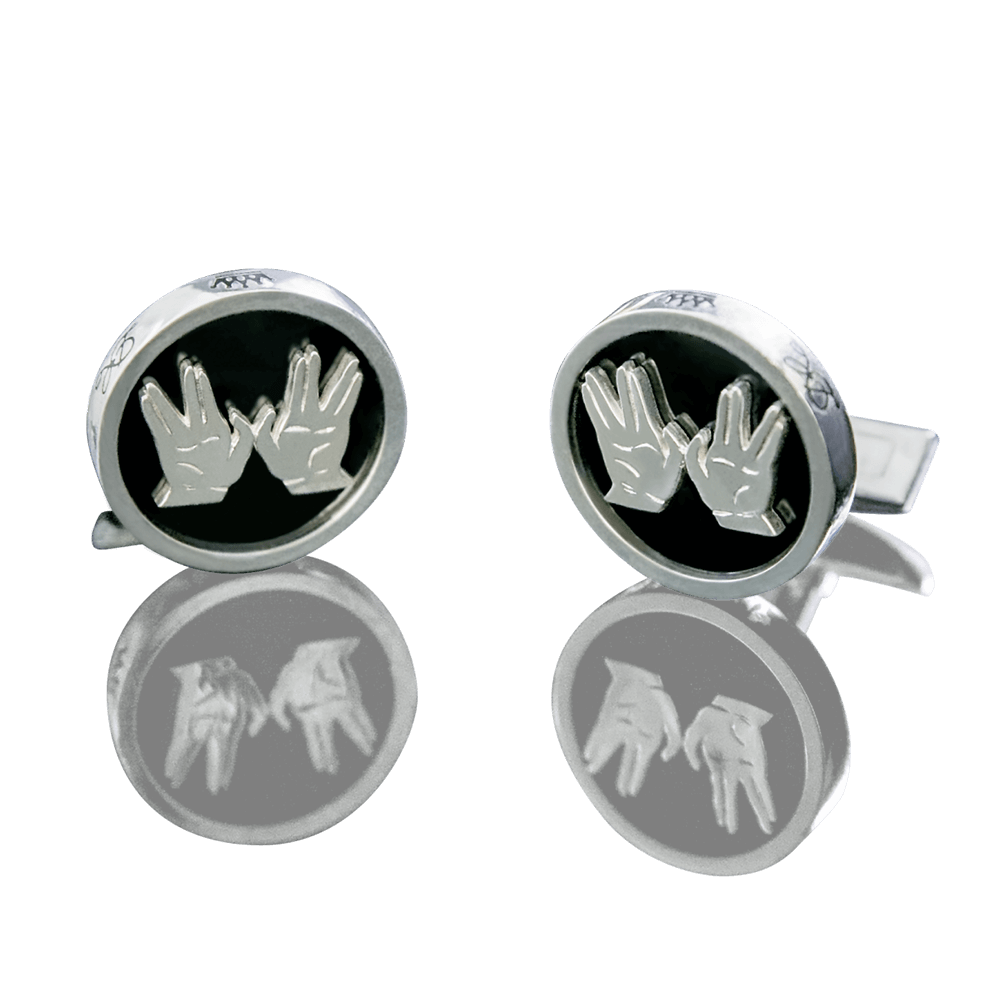 CUFFLINKS - COHEN BLESSING - Chaya jewelry, Jerusalem