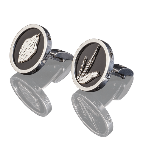 "CUFFLINKS - ""SUKKOT"" - Chaya & Raphael's Galleries"