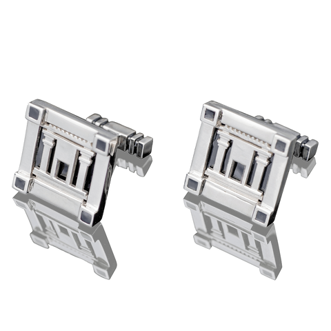 "CUFFLINKS - ""TEMPLE OF JERUSALEM"" - Chaya & Raphael's, Israel"
