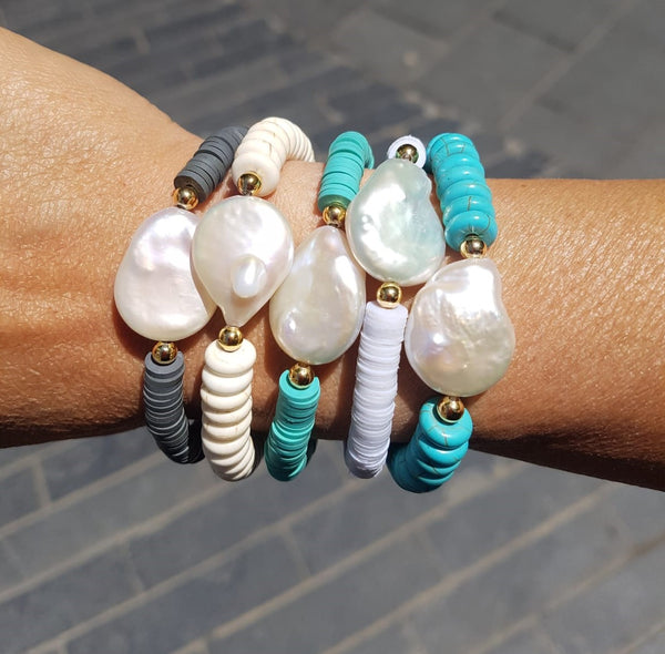 Summer Bracelets from Rubber - Chaya jewelry, Jerusalem