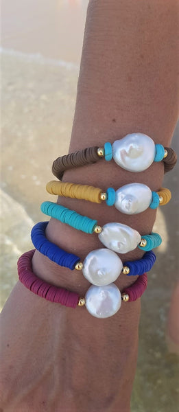 Summer Bracelets from Rubber - Chaya & Raphael's Galleries
