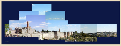 Tower of David and Old City Wall - Chaya jewelry, Jerusalem