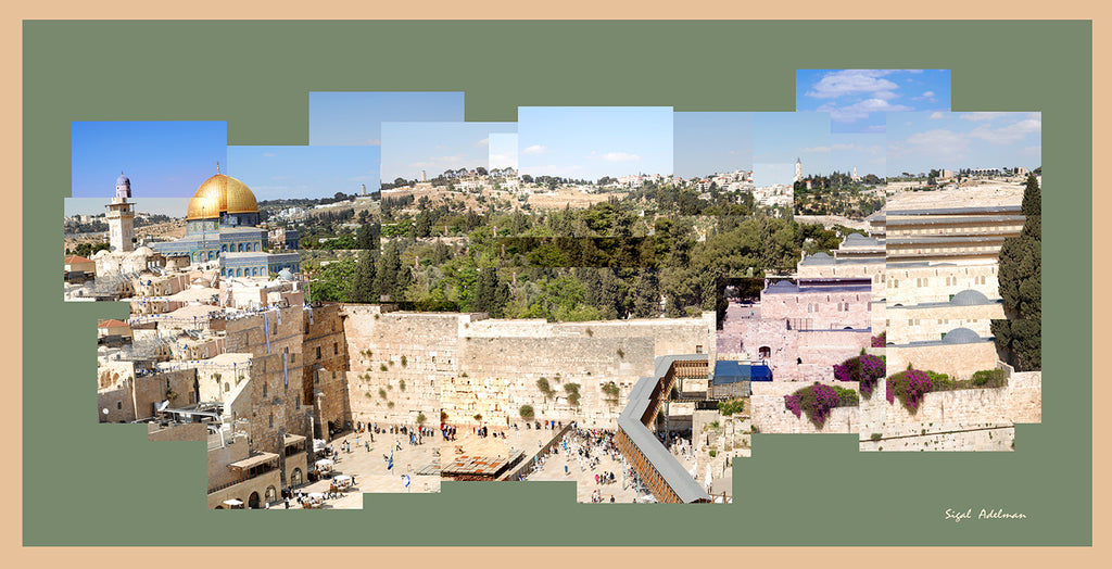 The Western Wall - Chaya jewelry, Jerusalem