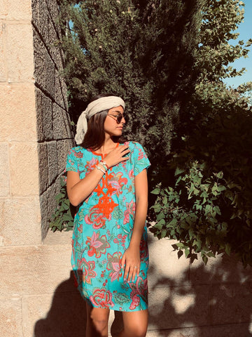 Summer Galabia - Dress Tonic - Chaya jewelry, Jerusalem