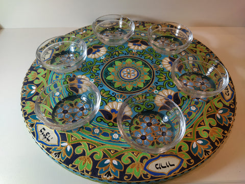 PLATE FOR PESACH SEDER III - Chaya jewelry, Jerusalem