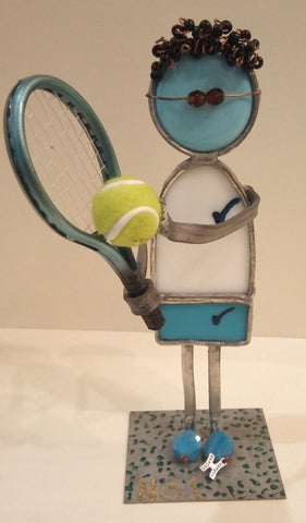 The Tennis Player (Boys) - Chaya jewelry, Jerusalem