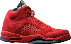 AIR JORDAN 5 UNIVERSITY RED SUED - MEN - University Red/Black-University Red | CYBASKETBALL