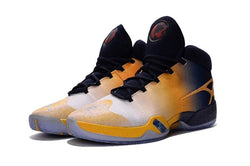 "PLAYER EXCLUSIVE AIR JORDAN 30 XXX ""Cal Golden Bears"" -MEN-White-Navy/Yellow - CYBASKETBALL"
