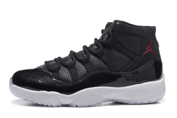 AIR JORDAN XI 72-10-MEN-Black/Gym Red/White/Anthracite - CYBASKETBALL