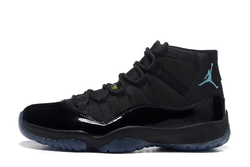 AIR JORDAN 11 GAMMA BLUE-MEN-Black/Gamma Blue/Varsity Maize - CYBASKETBALL