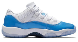 AIR JORDAN 11 LOW UNIVERSITY BLUE-MEN-White/University Blue | CYBASKETBALL