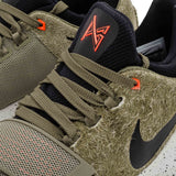 "NIKE PG 1 ""ELEMENTS""-MEN-Cargo Khaki/Black/Team Orange 