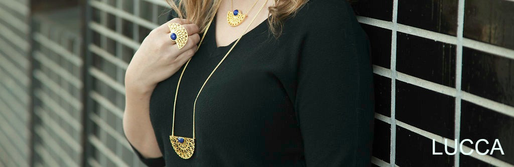 Prachi Bhise Jewelry- Lucca collection Necklace Ring