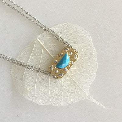 Dew Necklace In Turquoise