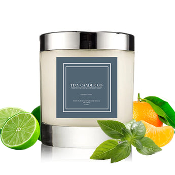 Lime, Basil & Mandarin - Tiny Candle Co