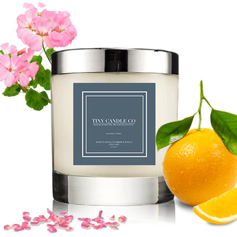 Geranium & Orange - Tiny Candle Co