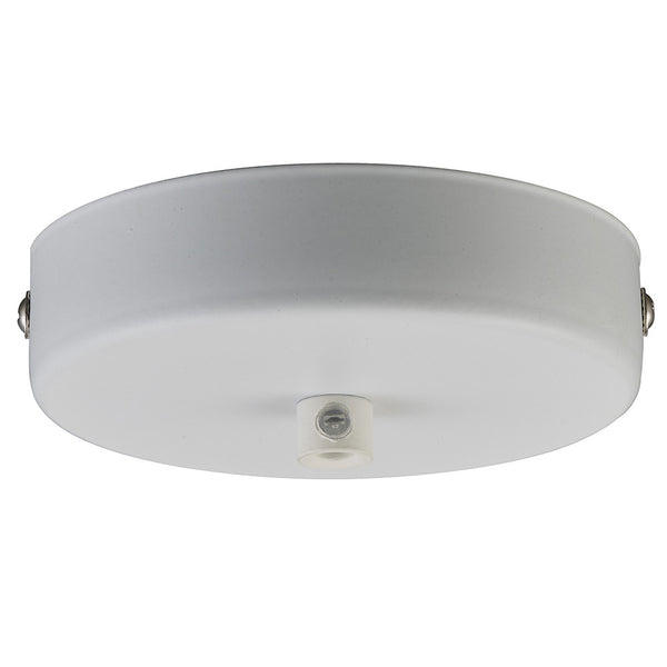 Halo Design Canopy for one lamp (10 cm / 3.9 inches) (White)