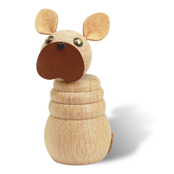 WOODEN Frenchie (Natural oak)