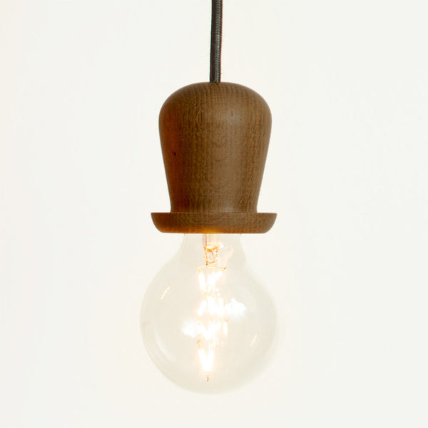 Little mr. Bulb, Bowler hat (Smoked oak)