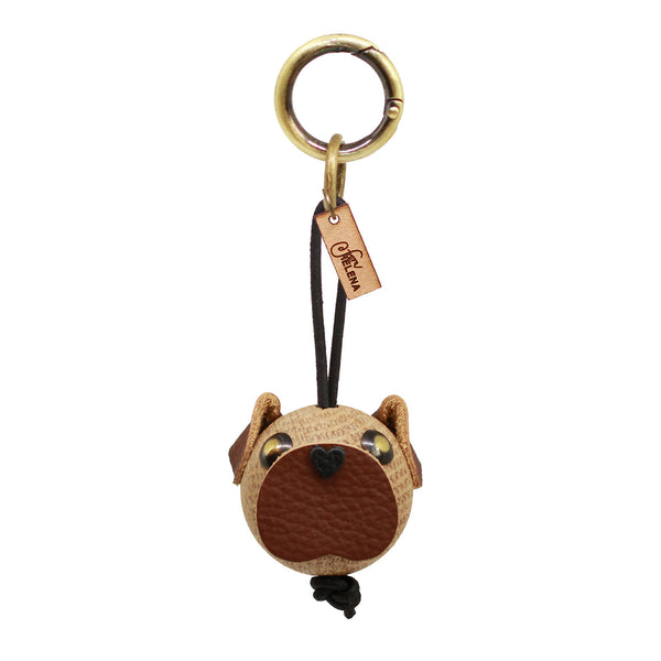 WOODEN Pug, Charm (Natural Oak)