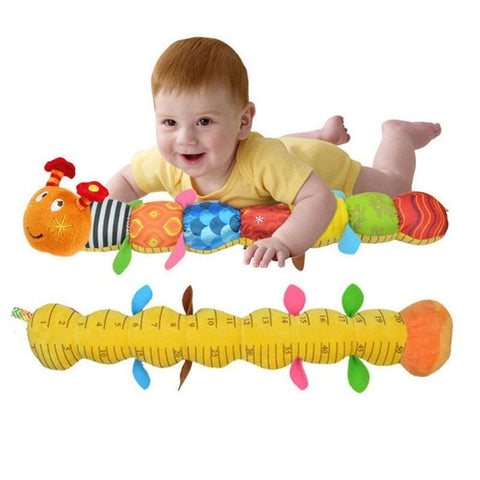 New Baby Toy Musical Caterpillar Rattle with Ring Bell - FREE Shipping
