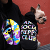 ANTI SOCIAL PUPPY CLUB X BATHING PUP HOODIE