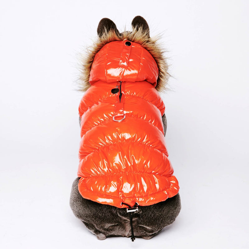Ultra Down Puffer Jacket - Tangerine