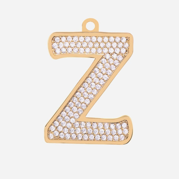 Initial Letter Jewelry Tag - Z
