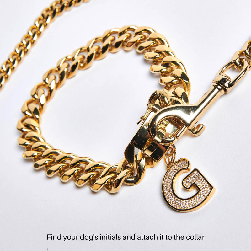 Cuban Link 20mm Gold Chain Collar