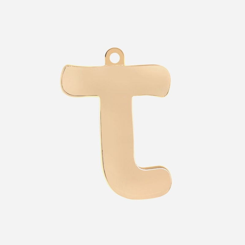 Initial Letter Jewelry Tag - J