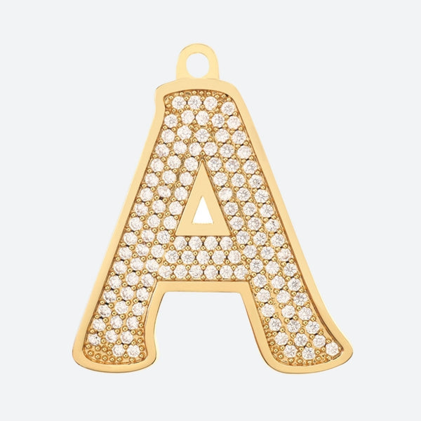 Initial Letter Jewelry Dog Tag(A-Z)