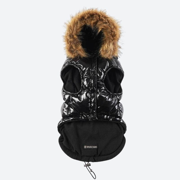 Black Dog Puffer Jacket