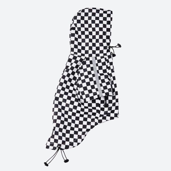 Checkered Flag Dog Windbreaker