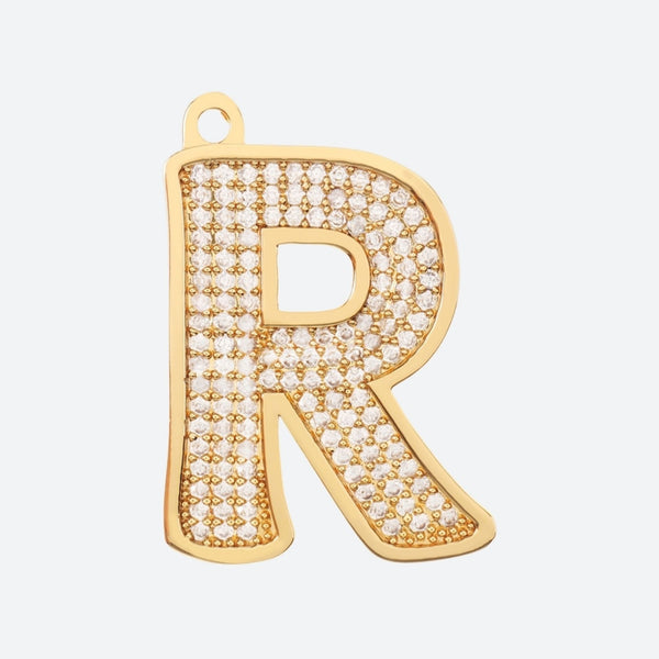 Initial Letter Jewelry Tag - R